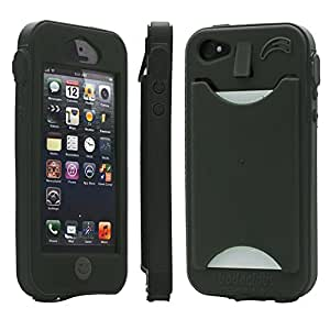 Band-It Case with Credit Card Slot for the iPhone 5 - Water-resistant - Made in the USA (Black)