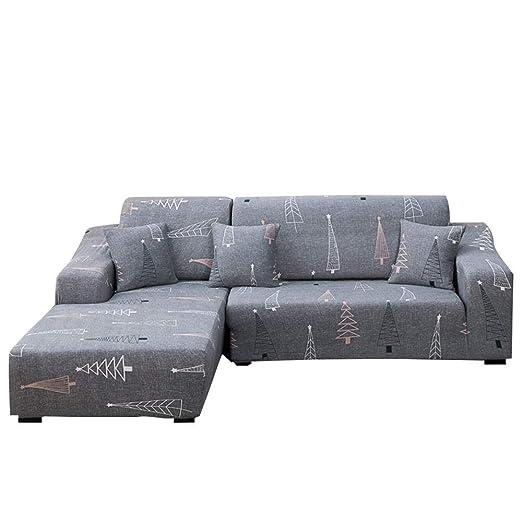 Fundas De Sofas Chaise Longue,Funda de sofá elástica para ...