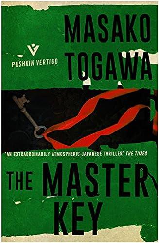Amazon com: The Master Key (Pushkin Vertigo) (9781782273639): Masako