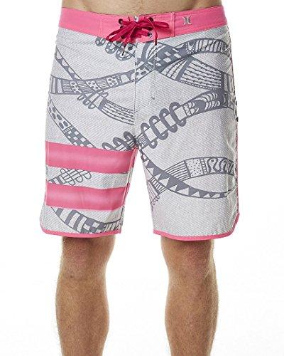 Hurley MBS0005230 Mens Phantom Julian Snapper Fashion Board Shorts, Neon Pink-Hurley - 30