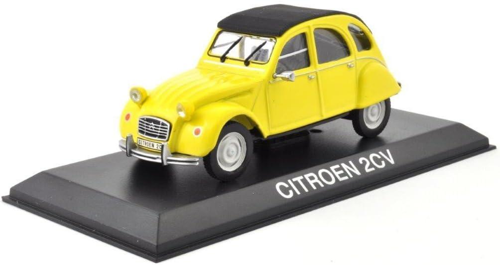 Citroen 2CV 2 CV Ente 4x4 Sahara 61 gelb Modellauto 150011 Norev 1:43