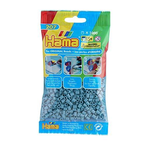 Hama 207-31 - Loisirs Créatifs - Perles et Bijoux - Sachet 1000 Perles Turquoise