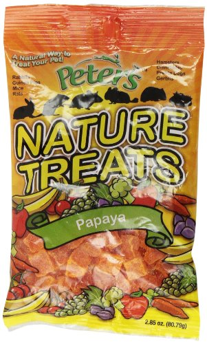 Peters Nature Treats Papaya-2.85 oz