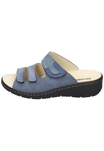 Dr. Brinkmann Damen-Pantolette Blau 701139-5, Grösse 39