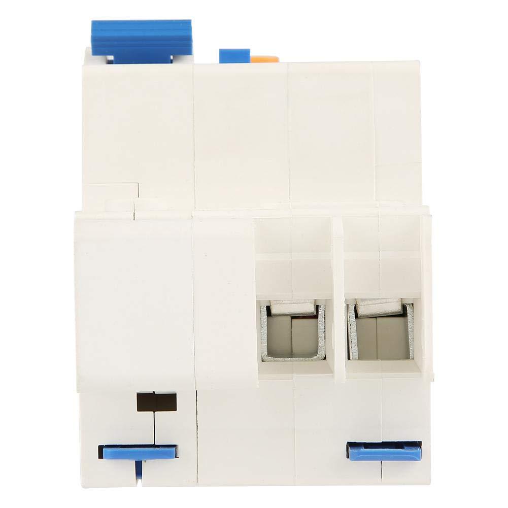 Disjoncteur DZ47LE-63 1P N C63 RCCB Disjoncteur courant r/ésiduel 230V 63A 30mA