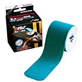 Ares Kinesiology Synthetic Extreme Tape Metallic Blue 2 Inches x 16.5 Feet