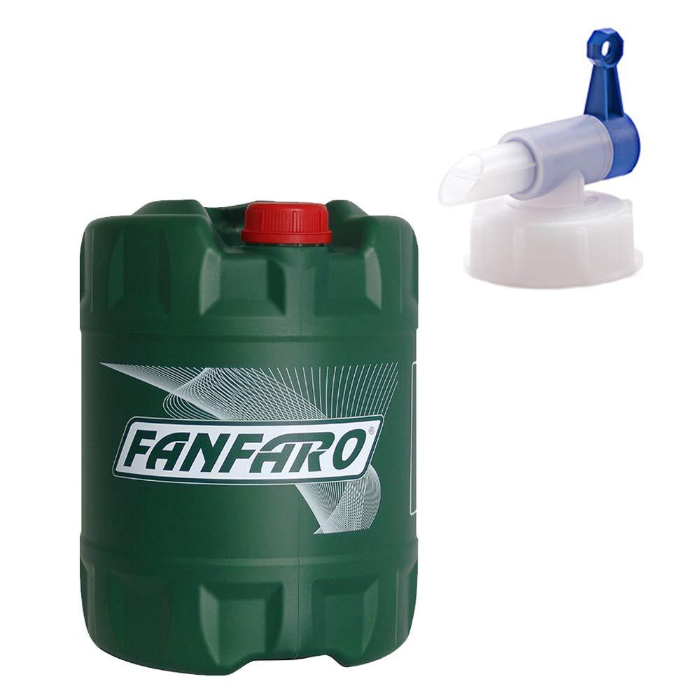 fanfaro 1 x 20 Liter + Auslaufhahn, M-2T API TC 2-Takt Motorradö l HH