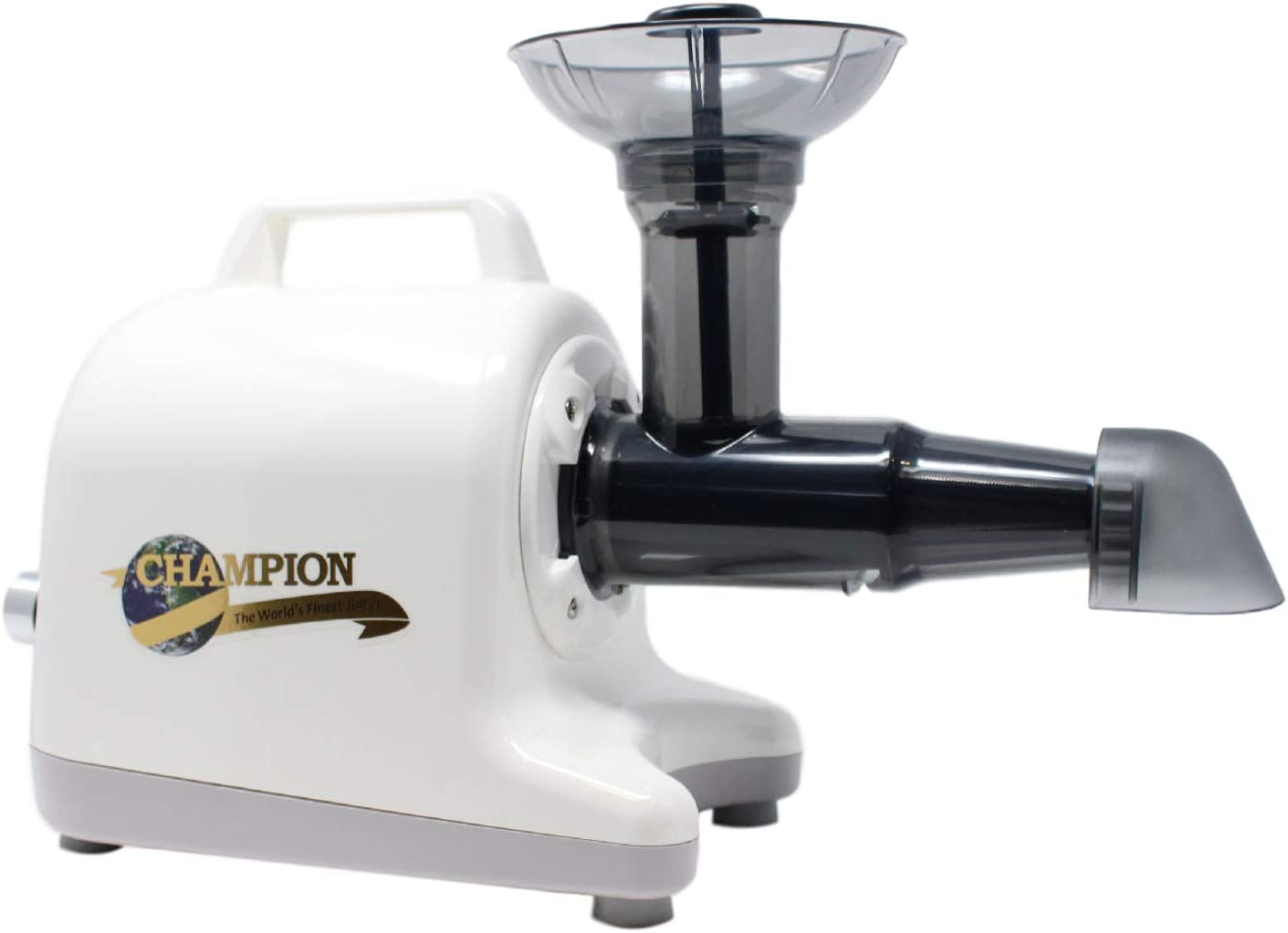 Champion Professional 5000 Dual Auger Variable Speed Masticating Juicer - Ivory