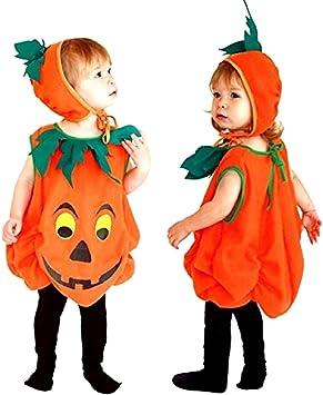 Disfraz de calabaza - vegetal - disfraces para niños - halloween ...