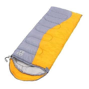 Lovely Rabbit Saco de Dormir Cosido Sobre, 3 Estaciones Que acampan yendo a Dormir el Saco de Dormir Impermeable (Color : Yellow): Amazon.es: Deportes y ...