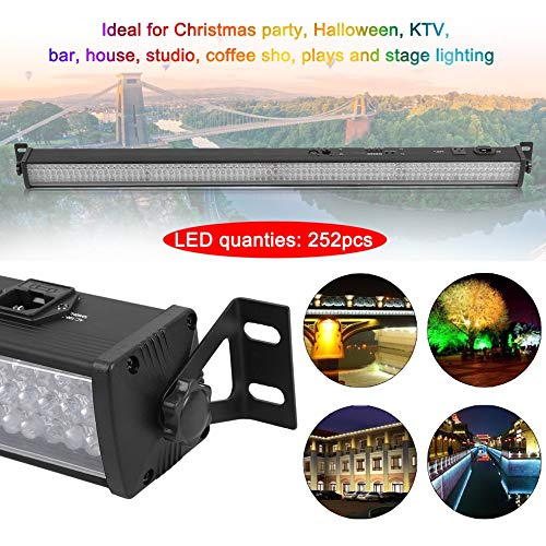 Wall Wash Bar Light 252 LED RGB Wash Strobe Lamp Disco Stage Effect Lamp