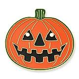 PinMart's Halloween Pumpkin Jack-O'-Lantern Holiday Lapel Pin 1''