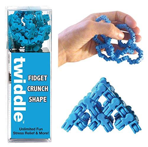 Twiddle Fiddle Toy, Blue