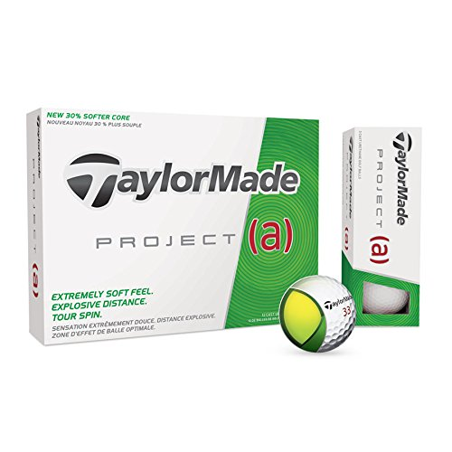 TaylorMade Men's Project a Golf Balls Taylormade Womens Golf Ball