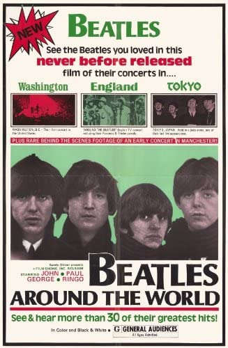 The Beatles Help 11X17 Movie Poster
