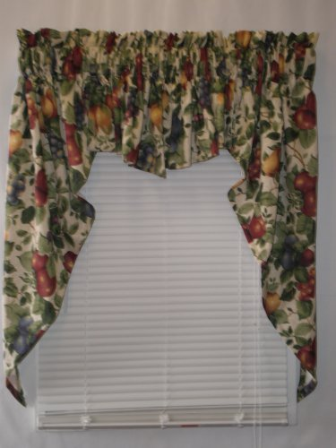 Sonoma Lined Swag Set (Insert Valance 56Wx15L) (Swag Cambridge)