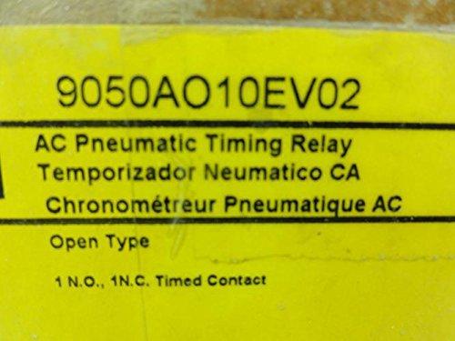 SCHNEIDER ELECTRIC 9050AO10EV02 Pneumatic Timer 600V 15 Amp a Plus Options