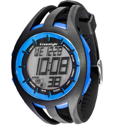 Freestyle Unisex 101803 Condition Round Digital Blue Big Display Watch