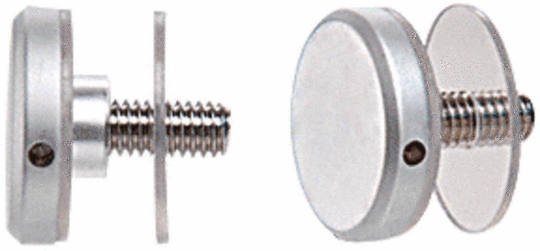 CRL Satin Chrome 1-1/4'' Diameter Standoff Cap Assembly