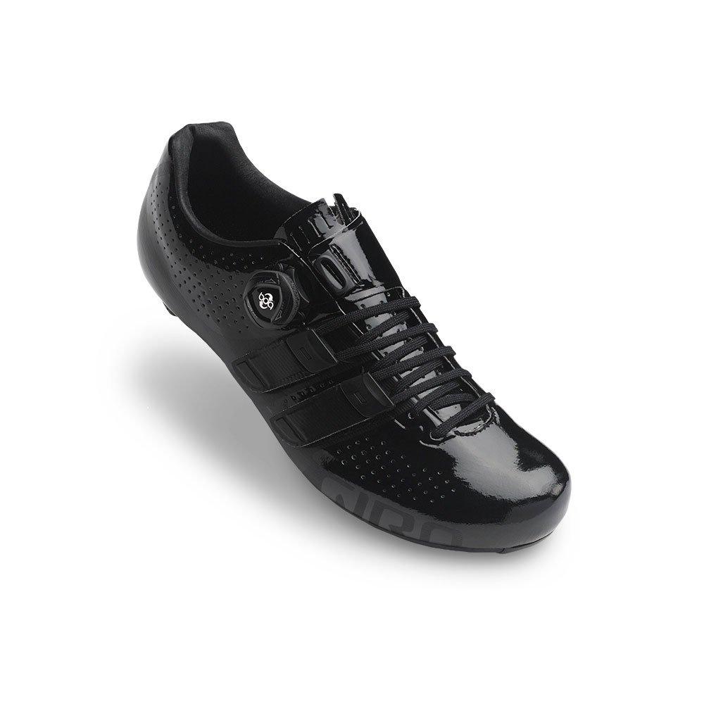 Giro Factor Techlace Road Cycling Shoes Black 45