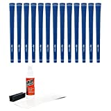 Karma Golf Grip Kit with Tape & Solvent Vise Clamp (13 Piece), Blue Velvet