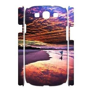 TXVNcase Custom 3D Hard Back Protective Plastic Case for Samsung Galaxy S3 I9300 (Sand Beach)