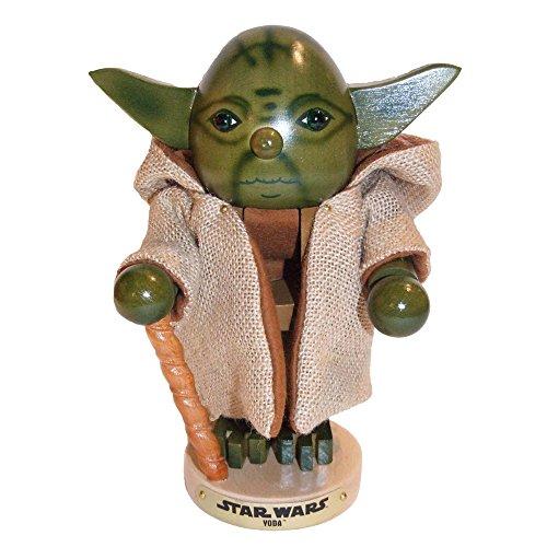 Kurt Adler Steinbach 10.5-Inch Nutcracker Star Wars Series,Yoda 2nd Edition Nutcracker