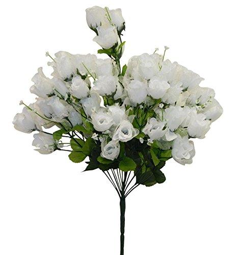 Artificial Silk Kissing Flower Ball Bouquet Wedding (light green) - 3
