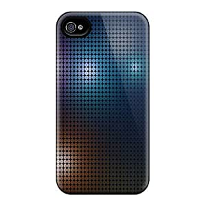 Fashion Protective Colorful Dots Case Cover For Iphone 4/4s by Maris's Diary