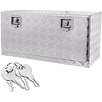 Amazon.com: Buyers Products Black Steel Underbody Truck Box w/ Paddle Latch (18x18x24 Inch