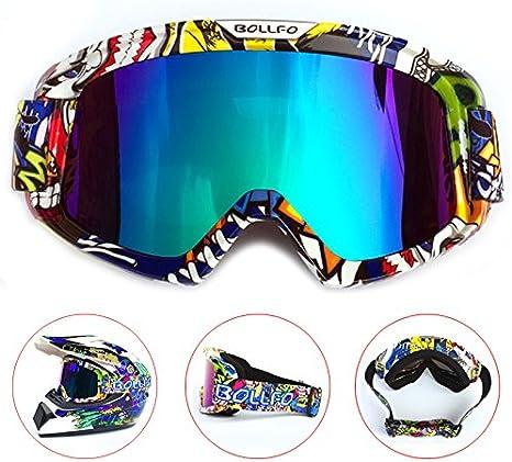 Brand Riding Motorcycle Helmet Goggles Motocross Off-road Ski Glasses Eyewear