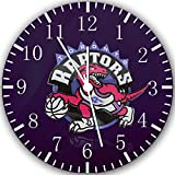 "Best IkEA clock - Toronto Raptors Wall Clock 10"" Will Be Nice Review"
