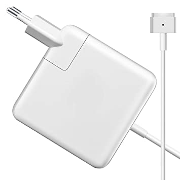 Yeahgo Adaptador Compatible con el Cargador MacBook Pro de 60 vatios. Reemplazo del Cargador con Punta en T MagSafe 2 de 60w/ 45w para MBP de 13