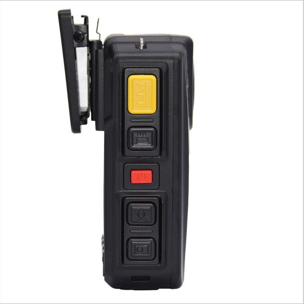 Infrarrojo Visión Nocturna HD 1296P Cuerpo De Policía Cámara De Video Desgastada Cámara IR De Seguridad Compatible Con GPS Detección De Movimiento, ...