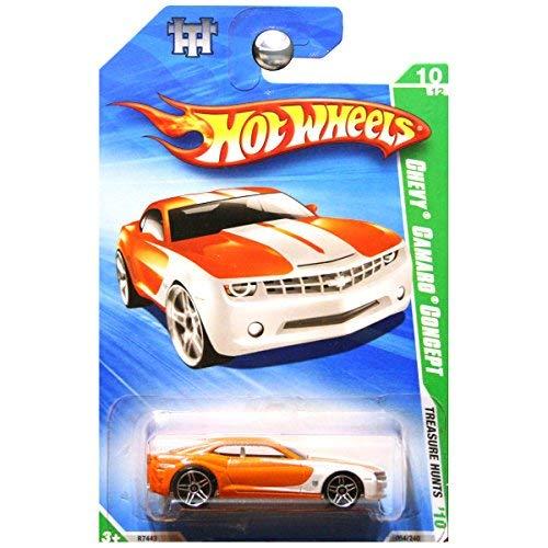 2010 Hot Wheels Treasure - Hot Wheels 2010 Treasure Hunts Chevrolet Chevy Camaro Concept Orange #10
