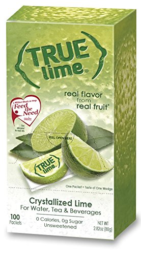 True Lime Bulk Dispenser Pack, 100 Count (2.82oz) (Lime Juice)