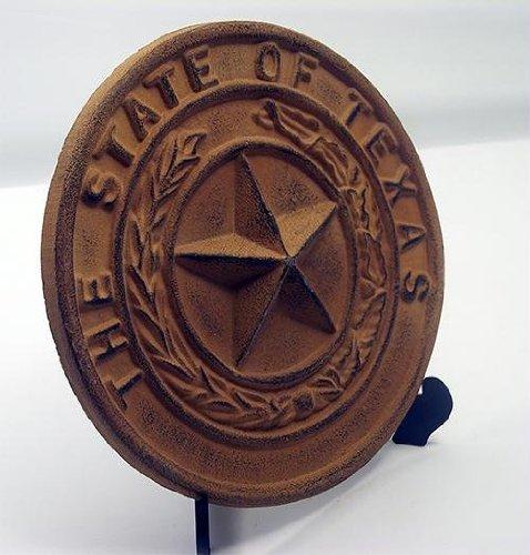 - IWGAC 0170S-05118 Cast Iron Large Texas State Seal