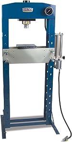Baileigh 30-Ton Air/Hand-Operated H-Frame Shop Press (HSP-30A)