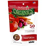 Jobe's Organics Vegetable & Tomato Fertilizer Spikes, 2-7-4 Time Release Fertilizer for All Vegetables, Herbs and Tomato Plants, 50 Spikes per Package