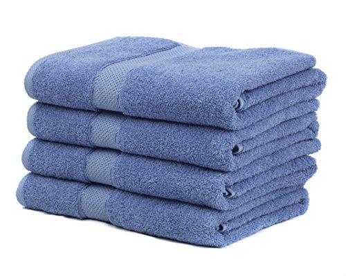 Premium Bamboo Cotton Bath Towels - Natural, Ultra Absorbent and Eco-Friendly 30