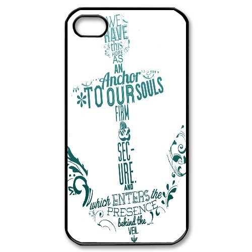 Tracy iPhone 4,4s Case,Personalized Custom Anchor,Unique Design Protective TPU Hard Phone Case Cover