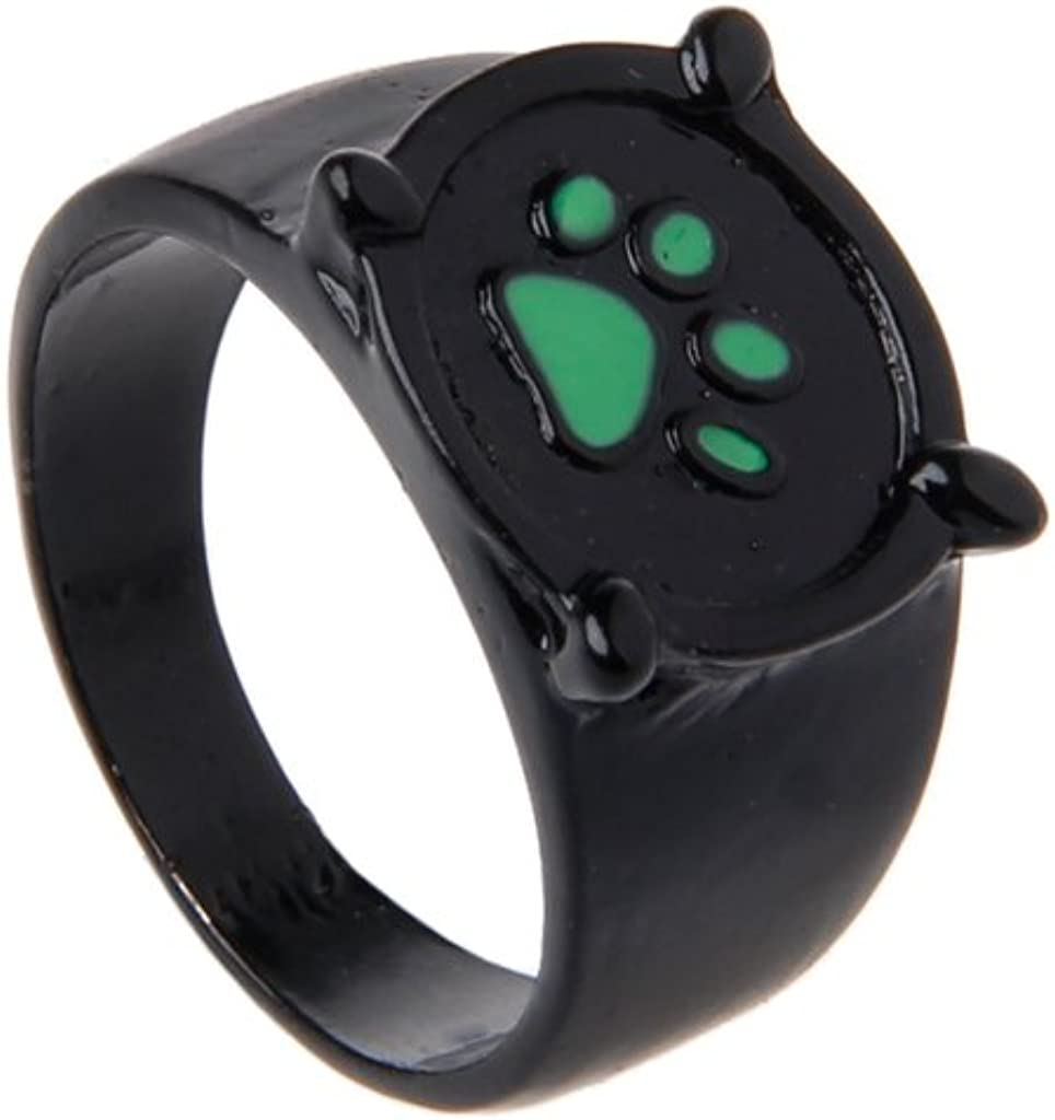 Anello per cosplay a forma di coccinella motivo gatto colore: Verde Lagand