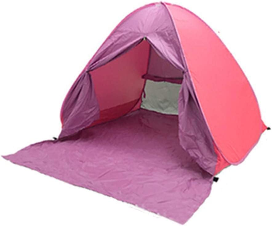 HOTUEEN Pop Up Tent Beach Tent Sun Shelter Instant Sun Shade Portable UV Tent Baby Sun Cabana with Door for Garden//Beach Times for 2-3 Person