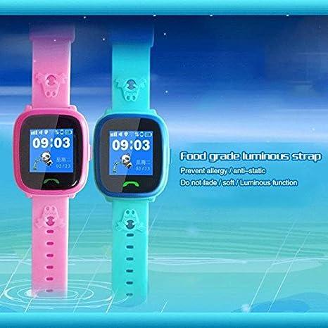 e53f5c852b86 Reloj inteligente de posicionamiento triple para niños