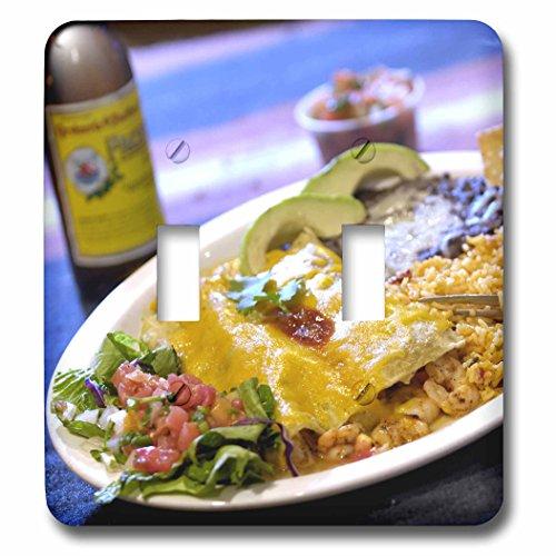 Danita Delimont - Cuisines - Shrimp Enchilada, Mexican cuisine Destin, Florida - US10 FVI0006 - Franklin Viola - Light Switch Covers - double toggle switch - Florida Outlet Destin
