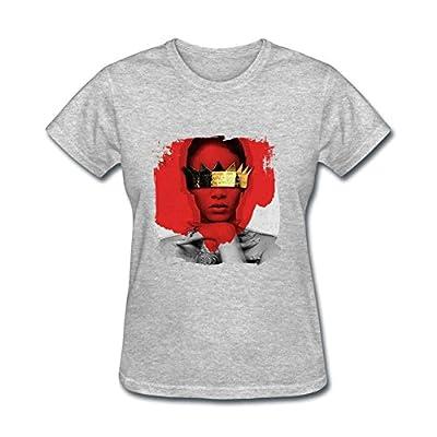 XiBei Women's Rihanna Anti Cover T shirts