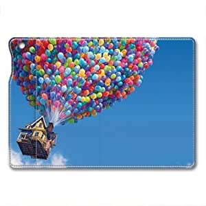 IPad Air 1 Case,IPad Air 1 Case, IPad Air 1 retina case ,Colorful balloons Custom IPad Air 1 retina High-grade leather Cases