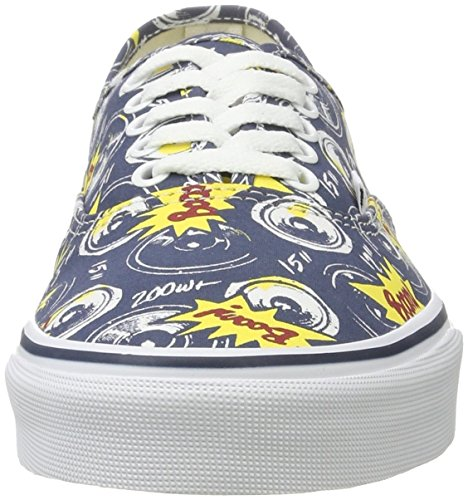 Vans Ua Authentic, Zapatillas para Hombre Boom City/True White