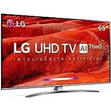 Smart TV LG 65 Ultra HD 4K 65UM7650 ThinQ Al WebOS 4.5 HDR Ativo DTS Virtual X 4 HDMI 2 USB , em breve com Alexa Integrada
