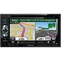 KWDDNN770HD - KENWOOD DNN770HD 6.1 WVGA Double-DIN In-Dash DVD Receiver with Navigation & Wi-Fi